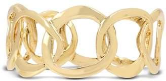 Robert Lee Morris Soho Sculptural Link Bangle Bracelet
