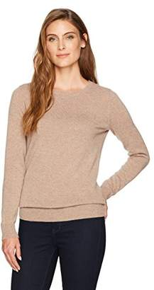 Amazon Essentials Women's 100% Cashmere Crewneck Sweater