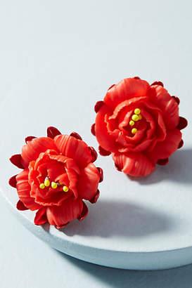 Elizabeth Cole Fire Flower Post Earrings
