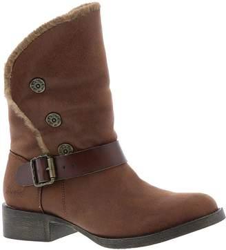 Blowfish Womens Katti Fabric Almond Toe Ankle Fashion Boots