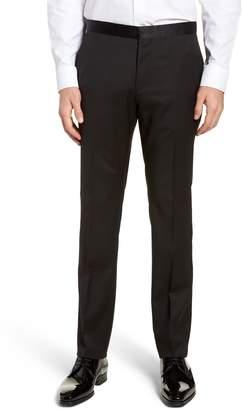 BOSS Gilan CYL Flat Front Wool Trousers