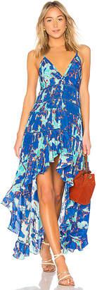Rococo Sand Folium Maxi Dress