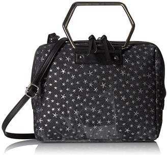 T-Shirt & Jeans Ring Satchel in with Stars