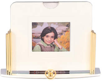 Bey-Berk Bey Berk Two Tone, Gold & Silver Plated Picture Frame