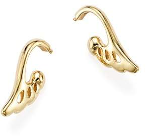 Temple St. Clair 18K Yellow Gold Wing Drop Earrings - 100% Exclusive