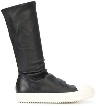 Rick Owens calf boot sneakers