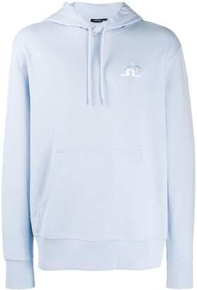 J. Lindeberg Hurl logo hoodie