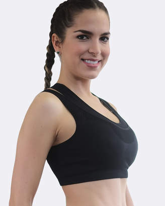 Double Racer Sports Bra