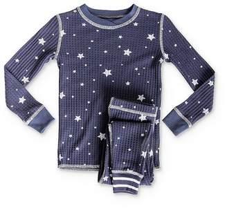 PJ Salvage Girls' Star Tee & Pants Pajama Set - Little Kid, Big Kid