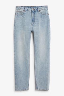 Monki Moluna light blue jeans