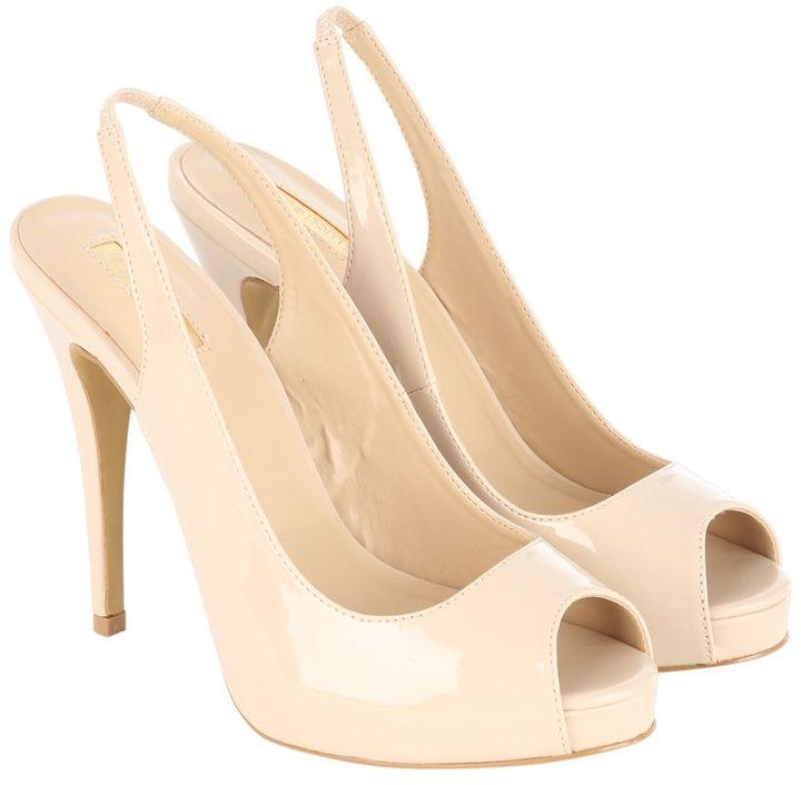 Nude Peep Toe Heels - ShopStyle Australia