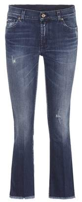 7 For All Mankind Cropped Boot flared jeans