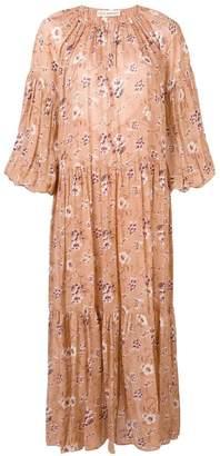 Ulla Johnson floral print tiered dress