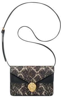 Anne Klein Diana Small Double Flap Crossbody Bag