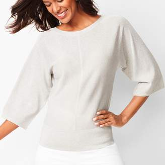 Talbots Dolman-Sleeve Sweater - Shimmer
