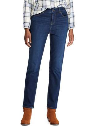 Chaps Five-Pocket Straight-Fit Jeans