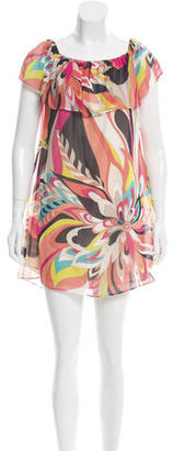 Trina Turk Silk Mini Dress w/ Tags $85 thestylecure.com