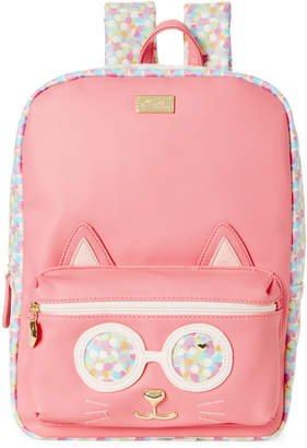 Betsey Johnson Confetti Poppy Kitch Cat Backpack