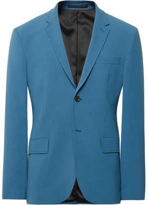 Joseph Blue Reading Stretch-Twill Suit Jacket