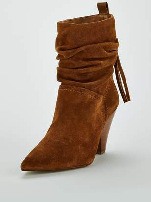 Carvela Sister-Tan-Suede Ankle Boot