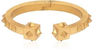 Oloye Studded Gold Plated Cuff Bracelet