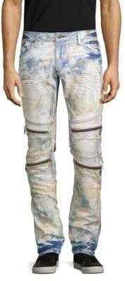 Zipper Flap Jeans