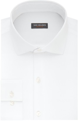 Van Heusen Men's Traveler Slim-Fit 4-Way Stretch Dress Shirt