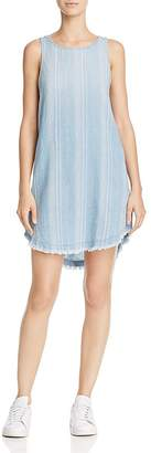 Bella Dahl Side-Button Stripe Dress $158 thestylecure.com