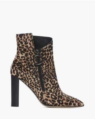 da054074e419 Paige Kate Bootie - Leopard Calf Hair