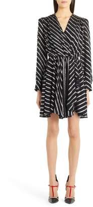 MSGM Metallic Stripe Dress