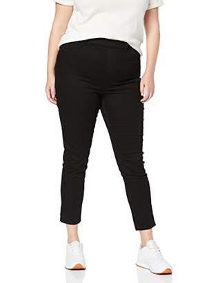 New Look Curves Women's 5 Pkt Black Jegging Leggings, 1, (Size:L30)