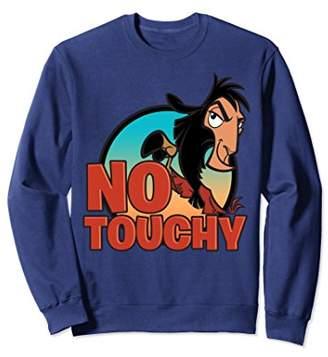 Disney Emperor's New Groove No Touchy Smirky Sweatshirt