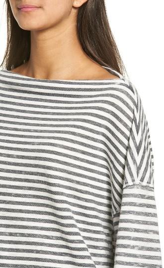 Women's Treasure & Bond Slouchy Fleece Pullover 3