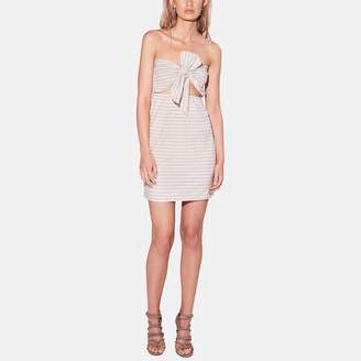 Sir The Label Sui Strapless Linen Dress
