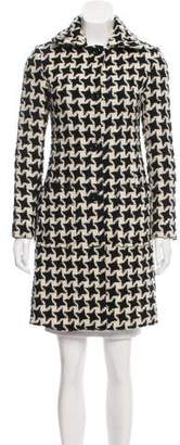 Milly Knee-Length Wool Coat