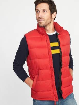 Old Navy Frost-Free Puffer Vest for Men