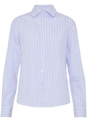 Alexa Chung Woman Striped Cotton-poplin Shirt Lilac Size 12 AlexaChung Cheap Sale Geniue Stockist IphtM8