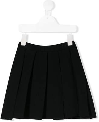 Il Gufo pleated mini skirt