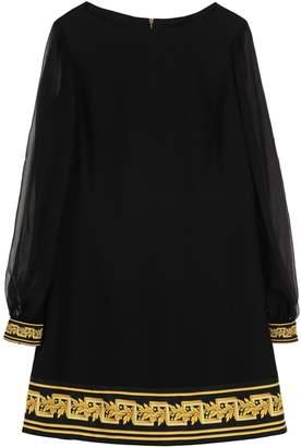 Versace Crepe Envers Satin Dress