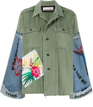 Night Market combined button-up shirt