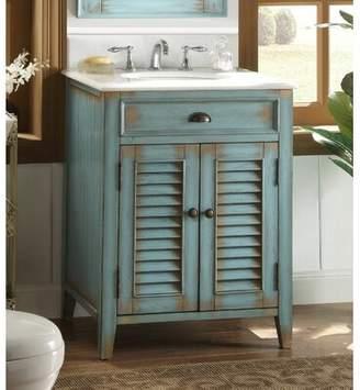 "Lark Manor Manon 26"" Single Bathroom Vanity Set Lark Manor"