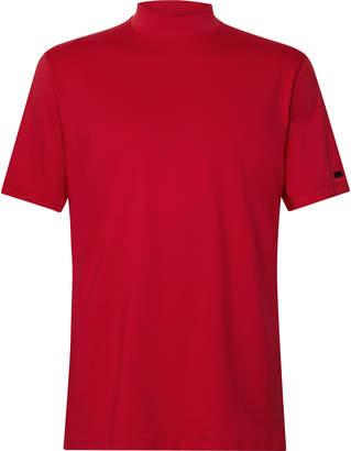 Nike TW Vapor Dri-FIT Mock Neck Golf Shirt - Men - Red