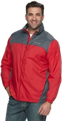 Columbia Big & Tall Glennaker Colorblock Packable Rain Jacket