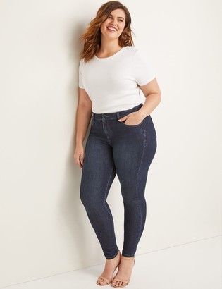 Lane Bryant Ultimate Stretch Skinny Jean - Dark Wash