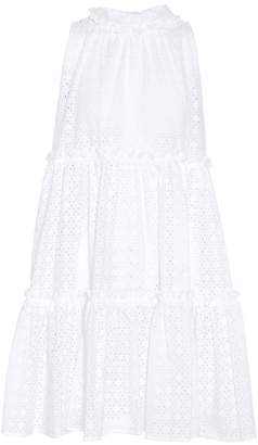 Lisa Marie Fernandez Cotton eyelet minidress