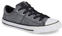 Converse R) Graphite & Glitter Low Top Sneaker