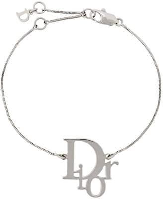 Christian Dior (クリスチャン ディオール) - Christian Dior Pre-Owned 1990's カットアウトロゴ ブレスレット