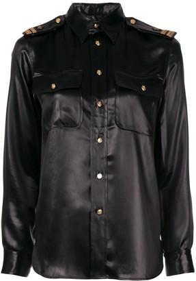 Ralph Lauren high shine shirt