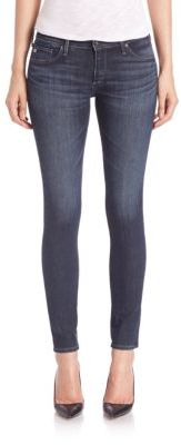 AG Legging Ankle Dark Wash Jeans $198 thestylecure.com