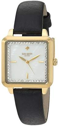 Kate Spade Women's 'Washington Square' Quartz Stainless Steel and Leather Casual Watch